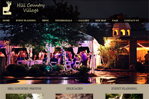 Web Development for Hill Country Village