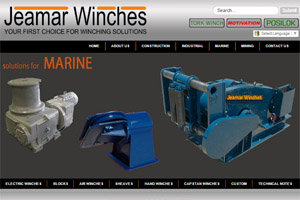 Website Development Jeamar Winches