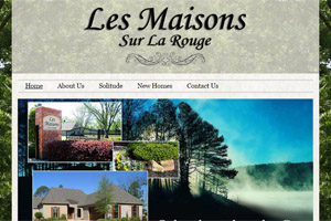 Website Development Les Maisons