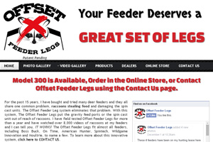 Web Development Offset Feeder Legs