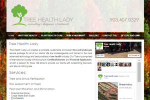 Tree Health Lady Website Development